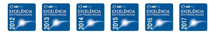 Selos de Excelência ABF